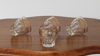 Art Deco Drinkglas | Set van 4
